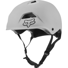 Fox Flight Jump Helmet Herren white